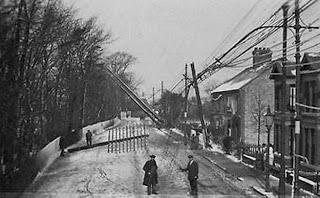 Os postes telegráficos