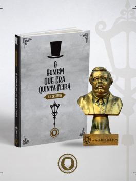 O Homem que era Quinta feira + Busto G.K. Chesterton