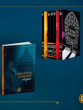 Livro Igreja Católica e Conversão +  Box Completo Padre Brown