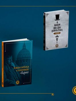 Livro Igreja Católica e Conversão + Homem que era Quinta-feira