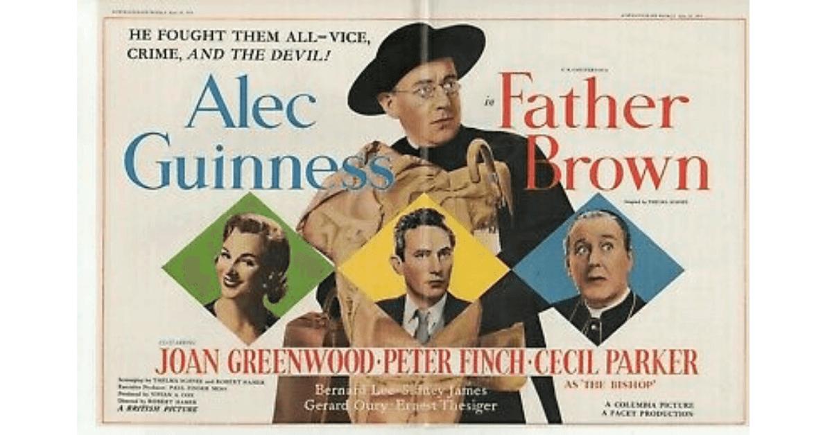 "Filme ""Padre Brown, o Padre Detetive"""