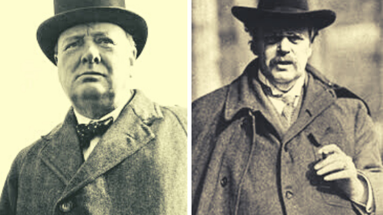 Chesterton e Churchill